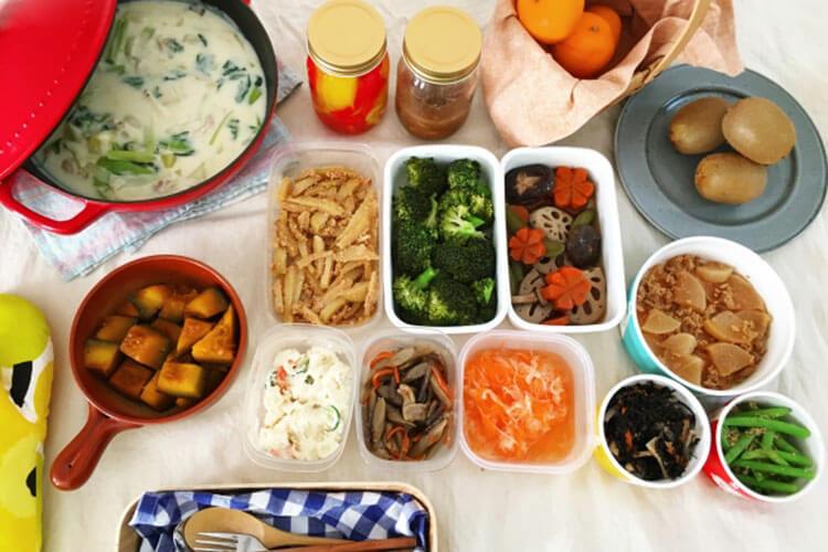 作り置き・常備菜で毎日の家事を楽にしよう