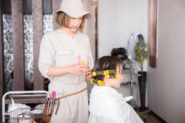 美容師の仕事内容