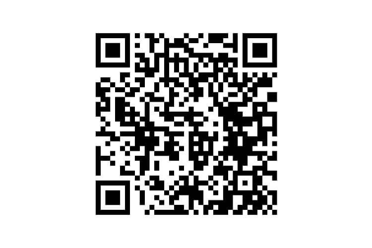 しごと計画学校岡山校の公式LINEのQRコードの写真